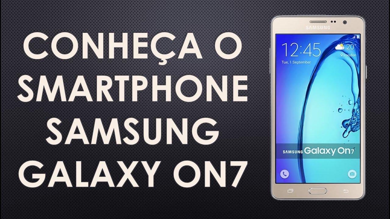 a636b7936 Conheça o Samsung galaxy On7 - YouTube