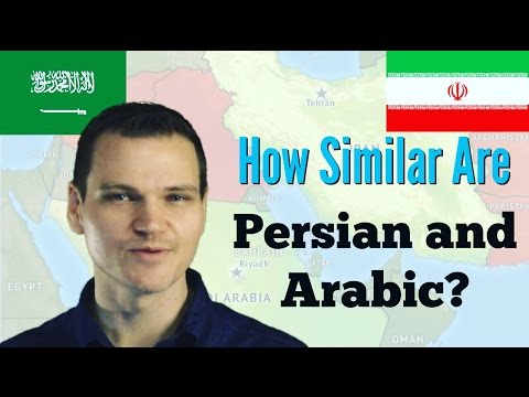 How Similar are Persian and Arabic?