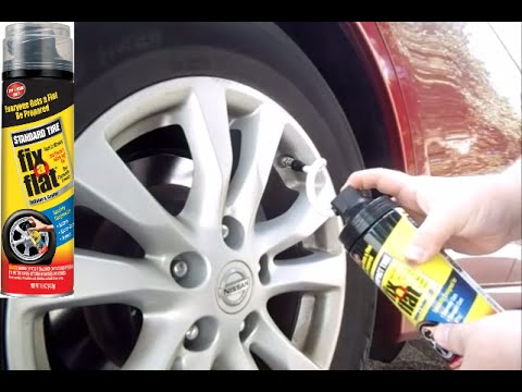 repair-low-tire-leaking-air-how-to-use-fixaflat-(car-truck-van-suv-motorcycle-toyota-kia-ford-honda