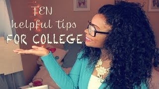 10 HELPFUL TIPS FOR COLLEGE | INCOMING FRESHMEN, GOING AWAY to SCHOOL + Pics of Me!