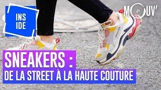 Sneakers : de la street aux défilés de haute couture