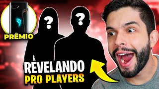 🔴 AO VIVO 🔴 REVELANDO PRO PLAYERS DESCONHECIDOS!! FREE FIRE