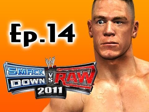 Smackdown Vs Raw 2011: John Cena Road to Wrestlemania Ep.14 (Gameplay/Commentary)
