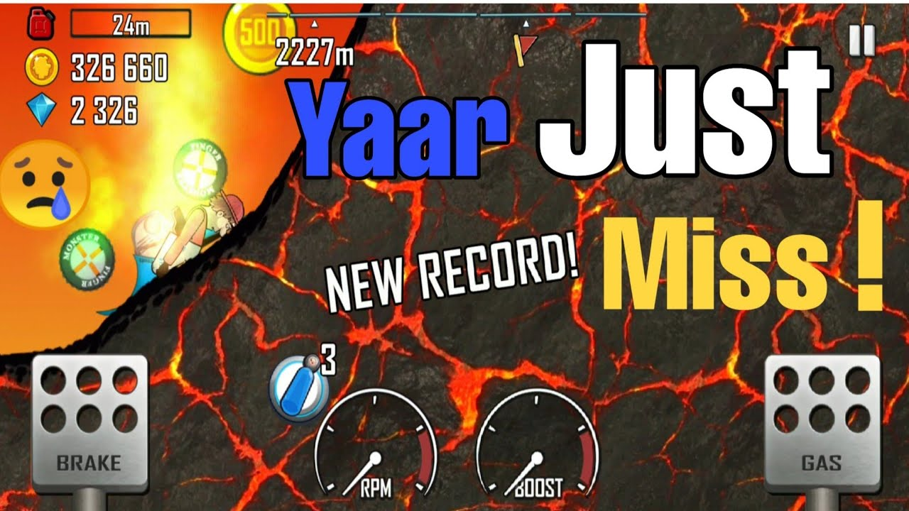 Hill Climb | Creat a new record | Veer-G | Gameplay for beginners ft. @Technogamerz
