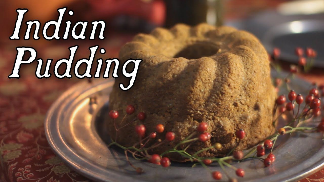 Indian Pudding 18th century cooking with Jas Townsend and Son S5E12 ...
