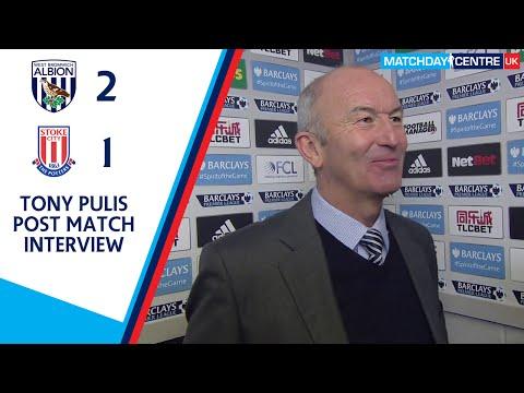 West Bromwich Albion 2-1 Stoke City : Tony Pulis Interview