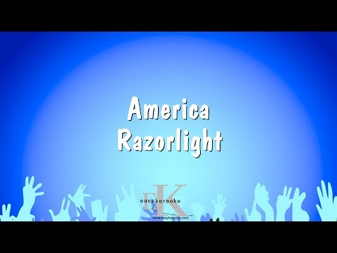 America - Razorlight (Karaoke Version)