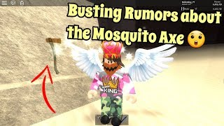 Roblox Lumber Tycoon 2 | Busting Rumors about Mosquito Axe