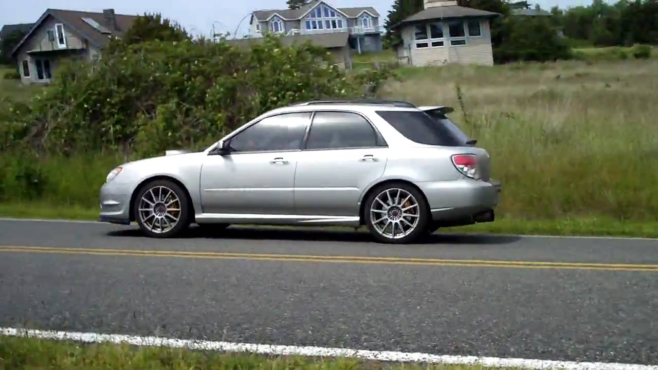 2007 subaru wrx sti wagon youtube vanachro Image collections
