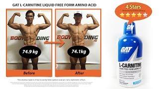 GAT L Carnitine Liquid Free Form Amino Acid