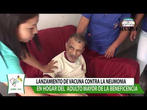 LANZAMIENTO DE VACUNACION CONTRA LA NEUMONIA