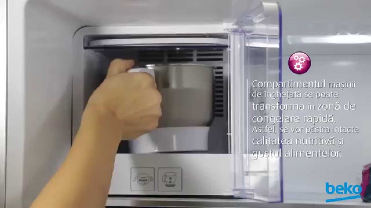 Frigiderul Gelato by Beko - YouTube