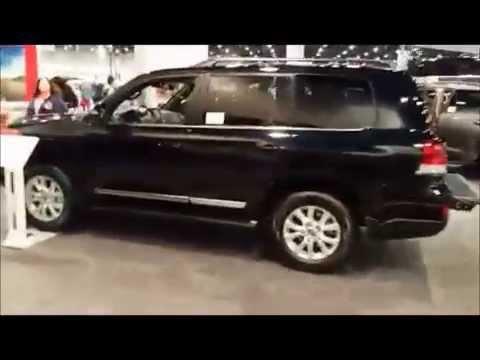 Toyota Land Cruiser at Motor Trend Auto Show Las Vegas