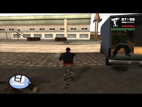 GTA San Andreas - Episod 8 - Curse ilegale si jaf la armata.