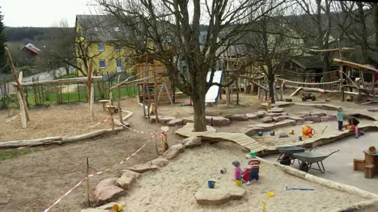 4 kindergarten dertingen spielplatzbau woche 4 dosa  youtube