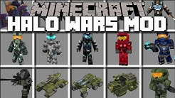 Minecraft HALO WARS MOD / FIGHT AGAINST COVENANT MOBS AND WIN THE WAR!! Minecraft