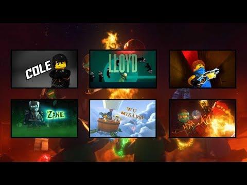 Lego Ninjago All Intros Season 1-7 (HD)