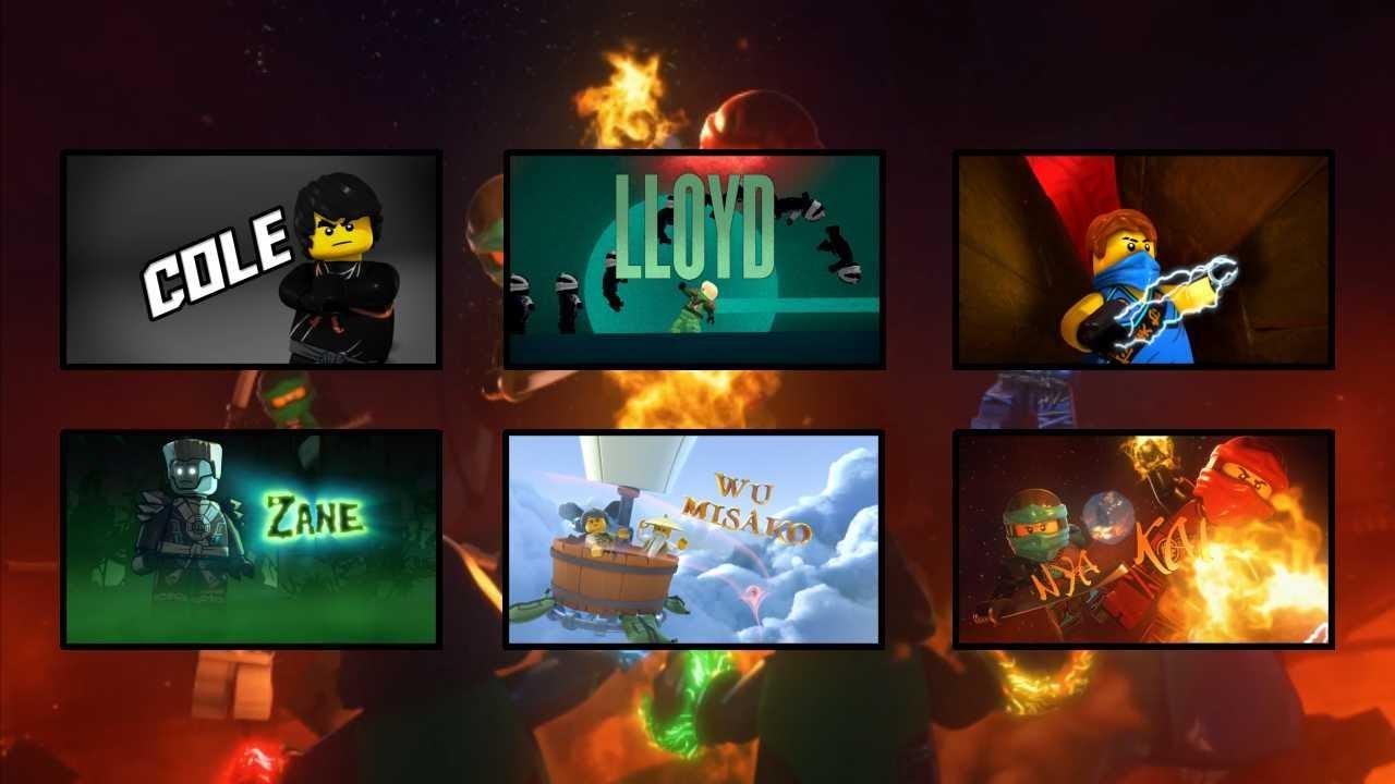 Lego Ninjago All Intros Season 1-7 (Old)