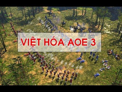 [Hướng dẫn] Việt hóa AOE 3 - Việt hóa age of empires 3