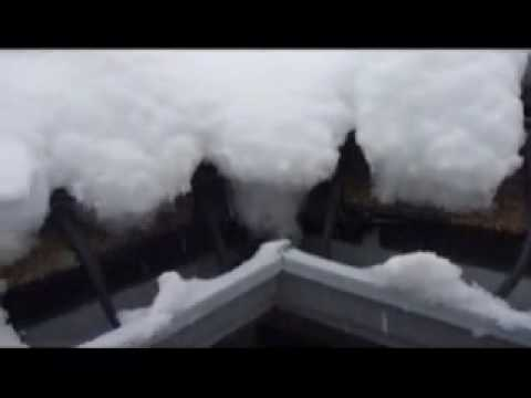 Colorado Seamless Gutters - De-icing heat cable system