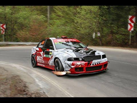 Audi Quattro Rally >> [SPY CAM] Alex MIREA / Audi A4 B5 1.8 Turbo quattro / Trofeul Rasnov 2017 - YouTube