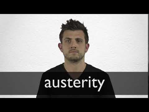 austerity deutsch