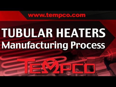 Tubular Heaters Electric Heating Elements Tempco Custom Manufacturing Process