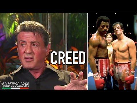 CREED - NATO PER COMBATTERE - Creed - Sylvester Stallone parla del film - Interview Sub ITA