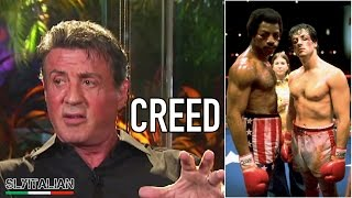 CREED - Sylvester Stallone parla del film - Interview Sub ITA