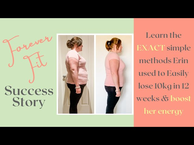 How Erin Lost 10 Kgs in 12 Weeks As A Busy Working & Studying Mum of 2!
