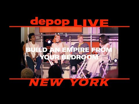 Build an Empire Your Bedroom | Depop Live New York