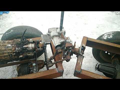 Самодельный минитрактор переломка обзор рулевой