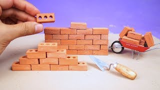 Make Awesome Mini bricks for bricklaying