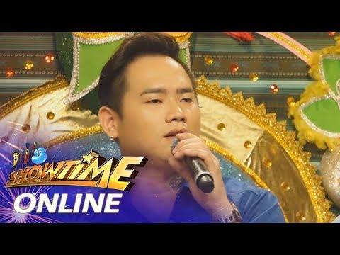 It's Showtime Online: TNT semi-finalist Mark Michael Garcia sings