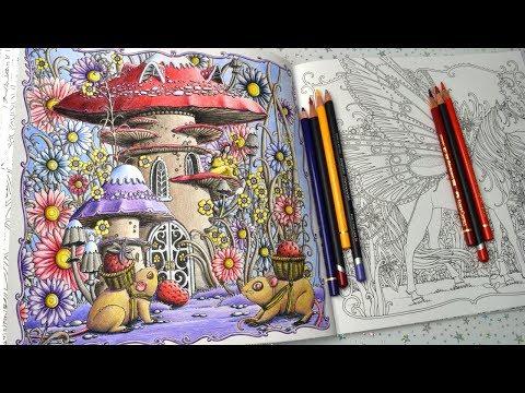 Coloured Pencil Coloring in Zemlja Snova Coloring Book by Tomislav Tomic