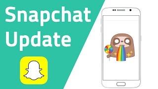 Großes Snapchat Update mit vielen neuen Features (Snapchat Tipps & Tricks)