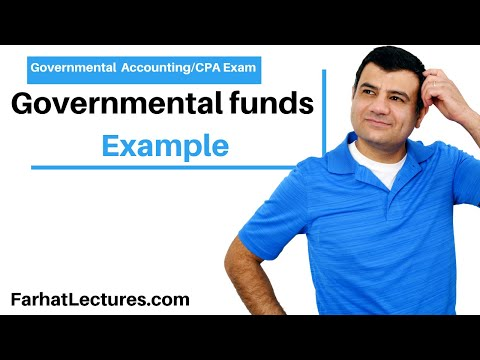 Example: Governmental Fund | CPA Exam | Governmental Accounting and For Profit course