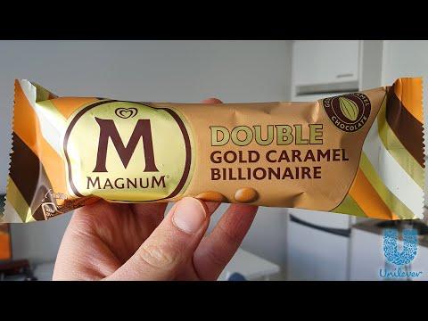 Magnum Gold Double Caramel Billionaire (Ice Cream Review)