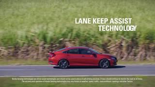 Honda Sensing - Lane Keep Assist