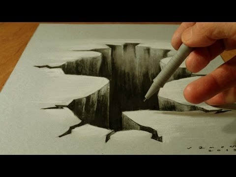 Thumbnail: 3D Drawing Hole - Trick Art on Paper