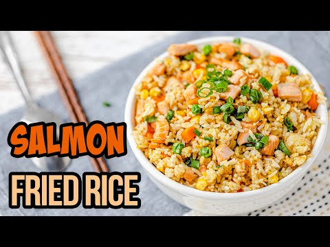 Salmon Fried Rice Recipe