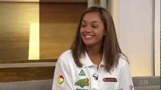 ► WNBL player Leilani Mitchell joins ABC News Breakfast