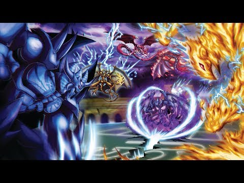 YuGiOh Destiny Duels | Egyptian GOD CARDS vs The SACRED BEASTS | CLASH of the TITANS