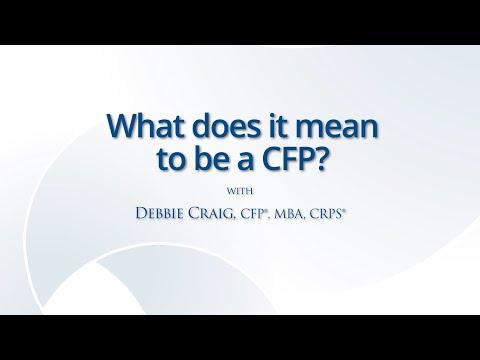 certified financial planner cfp