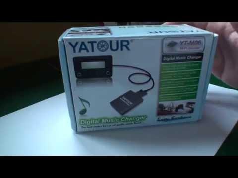 Yatour Digital Music Changer UNPACK (content) for Audi A3 NEW!!! HD