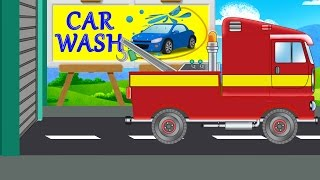 tow truck | car wash | game for toddlers