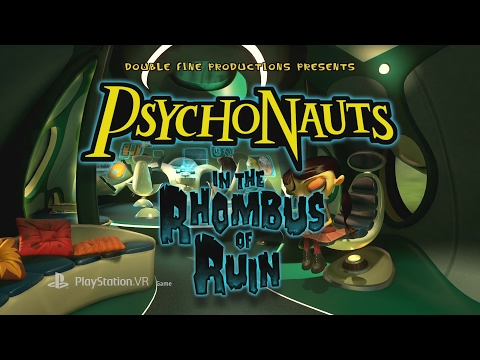 Psychonauts in the Rhombus of Ruin New Official Launch Trailer
