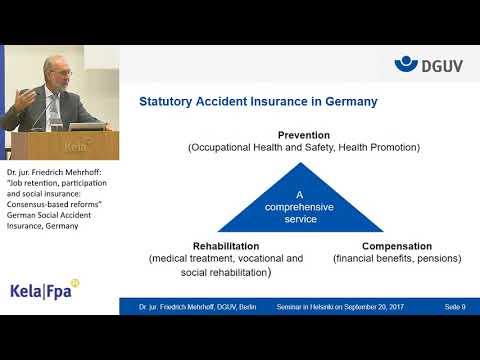 Job retention, participation and social insurance: Consensus-based reforms