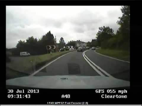 Gloucestershire police camera action: Christopher Wright, 24, stopped on the A48