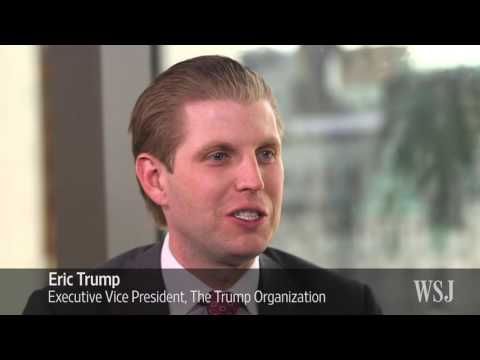 Eric, Donald Trump Jr.: All in the Family Business